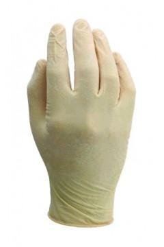 Box of 20 latex examination gloves
