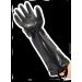 Heavy gloves, elbow length