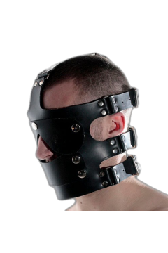 Fej harness szájpecekkel