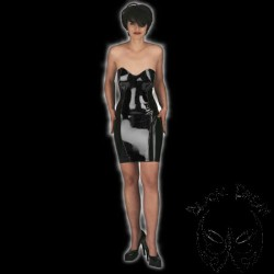 latex-corset-dress-mini