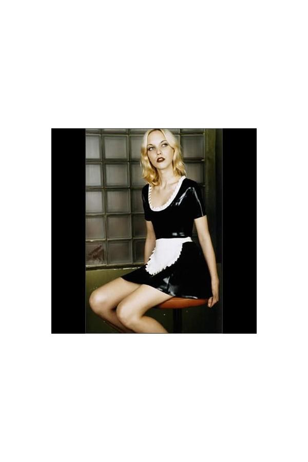 latex-waitress-dress