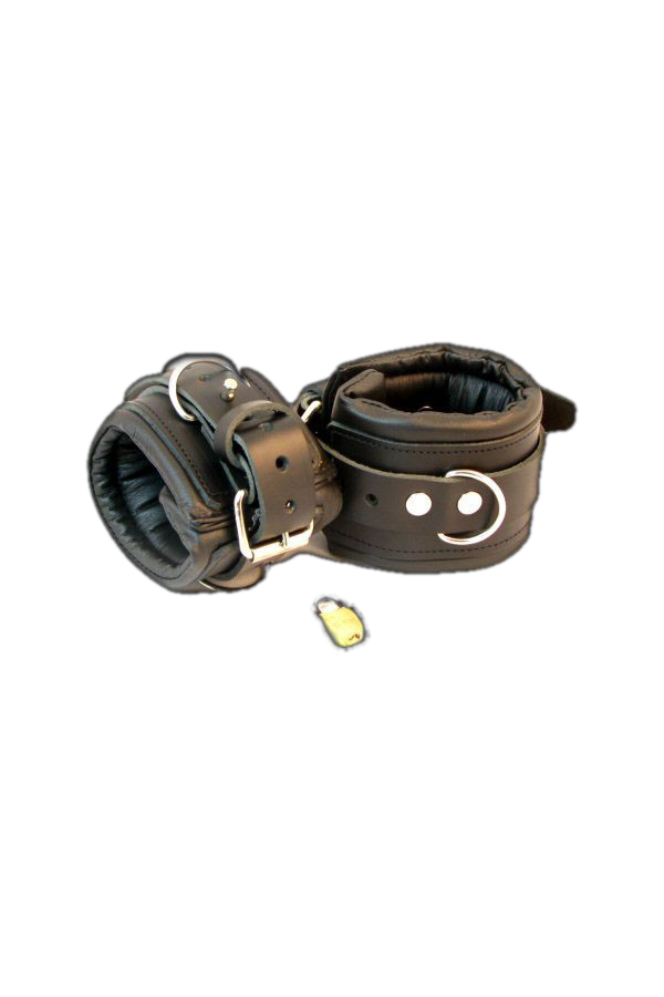 Padded Lockable Ankle Restraints