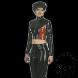 latex-stand-up-collar-jacket