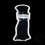 Black Bondage Rope 15 m