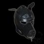 Leather dog hood