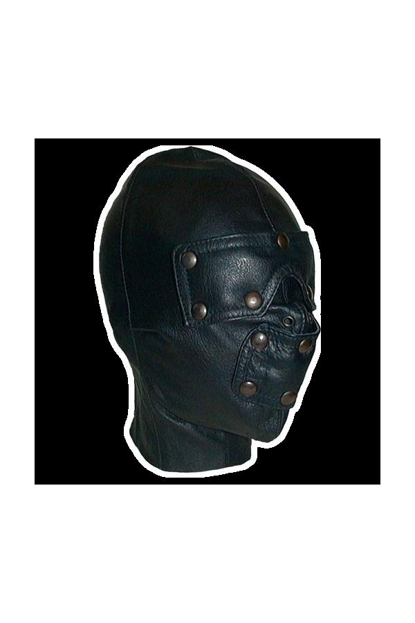 Leather slave hood