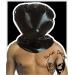 Latex sack hood, adjustable