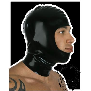 Open faced latex hood