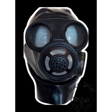 Danish gasmask with hood