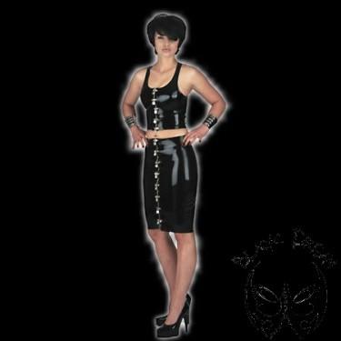 skirt-knee-length-with-locks