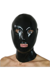 Anatomical mask with zip and nose tubing