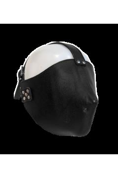 Deluxe bondage half mask