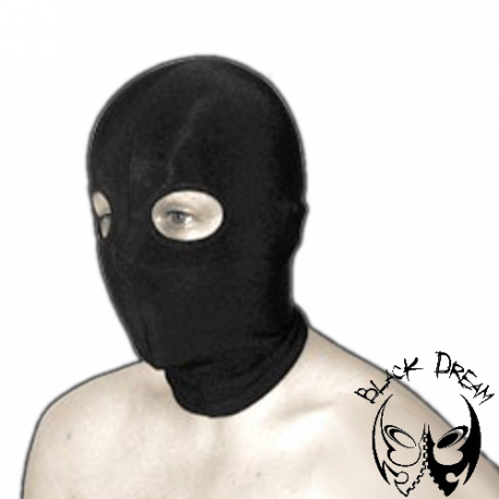 Spandex mask with eye opening