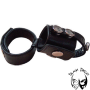 Broad double cockstrap with ball divider