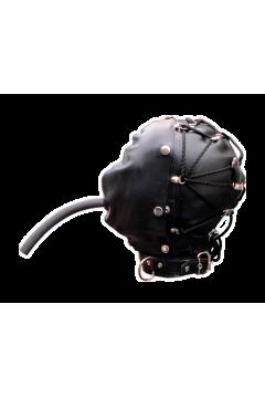 Duplarétegű gumimaszk szájpecekkel