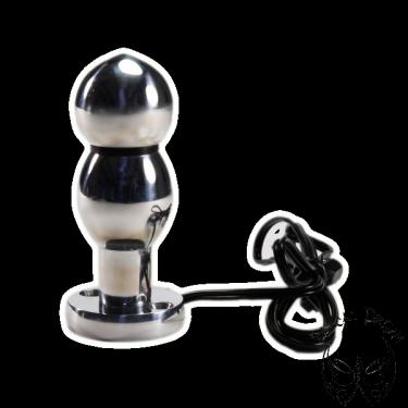 Electro butt plug - double bullet