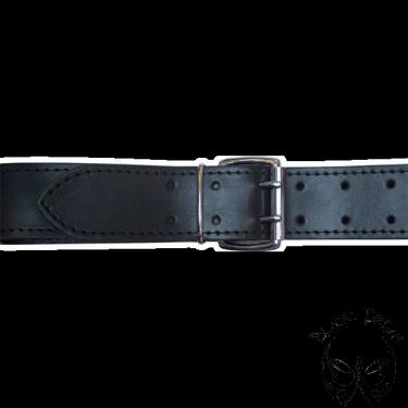 Leather belt - 5 cm wide