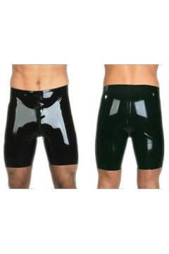 Cycle shorts with 2-way all around zip