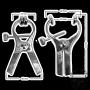 Luxurous Electro clamps Uni-polar