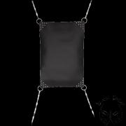 4 pontos bőr sling