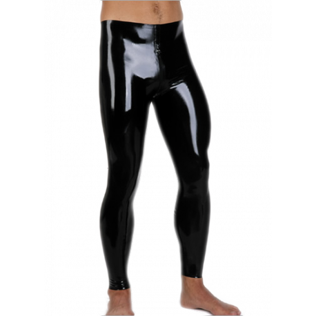 Tights with front zip