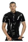 Policeshirt with short sleeves