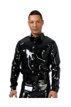 Policeshirt with long sleeves