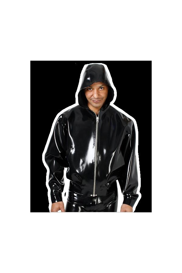 Bomberjacket with hood