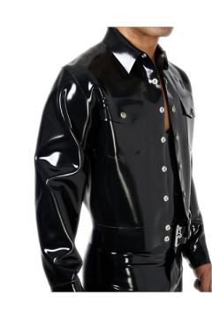 Denim style jacket