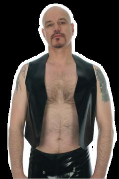 Open fronted waistcoat