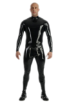 Catsuit with sailor front