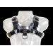 Alap bőr mell harness