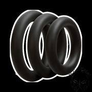 OptiMALE vastag farokgyűrű - fekete