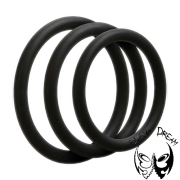 OptiMALE vékony farokgyűrű - fekete