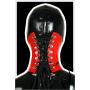 Latex neck corset