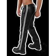 Jogging nadrág bőrből