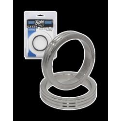 Dupla bordás fém farokgyűrű