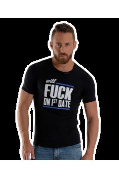 Mister B FUCK  rövidujjú póló