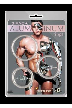 Aluminum farokgyűrűk - 3 -mas csomag