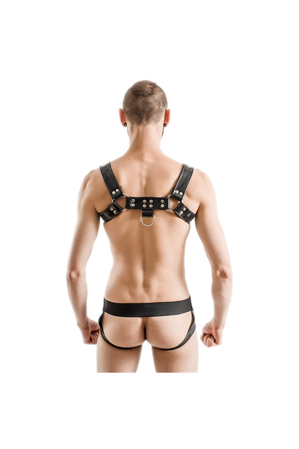 Mister B Rubber Chest Harness Premium