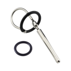 Húgycső dugó szilikon gyűrűvel - sima