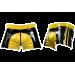 Rubber Shorts Yellow Saddle