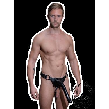 Férfi dildo harness