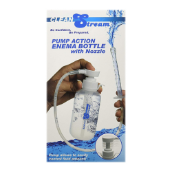 CleanStream - Pump Action Enema Bottle with Nozzle
