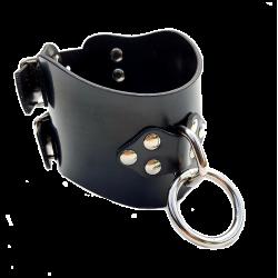 Rubber slave collar